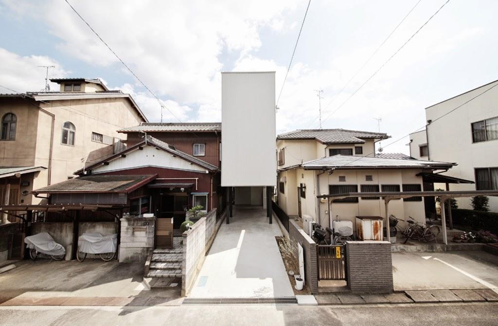 Rumah Minimalis di Lahan 3x21 Meter