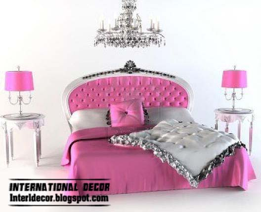 Home design International: Top luxury beds tradition designs with ... : pink quilted headboard - Adamdwight.com
