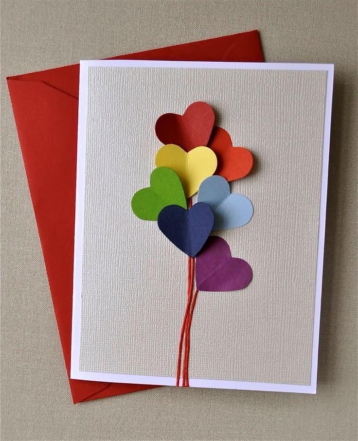 Как делать открытки на день рождения маПростые
