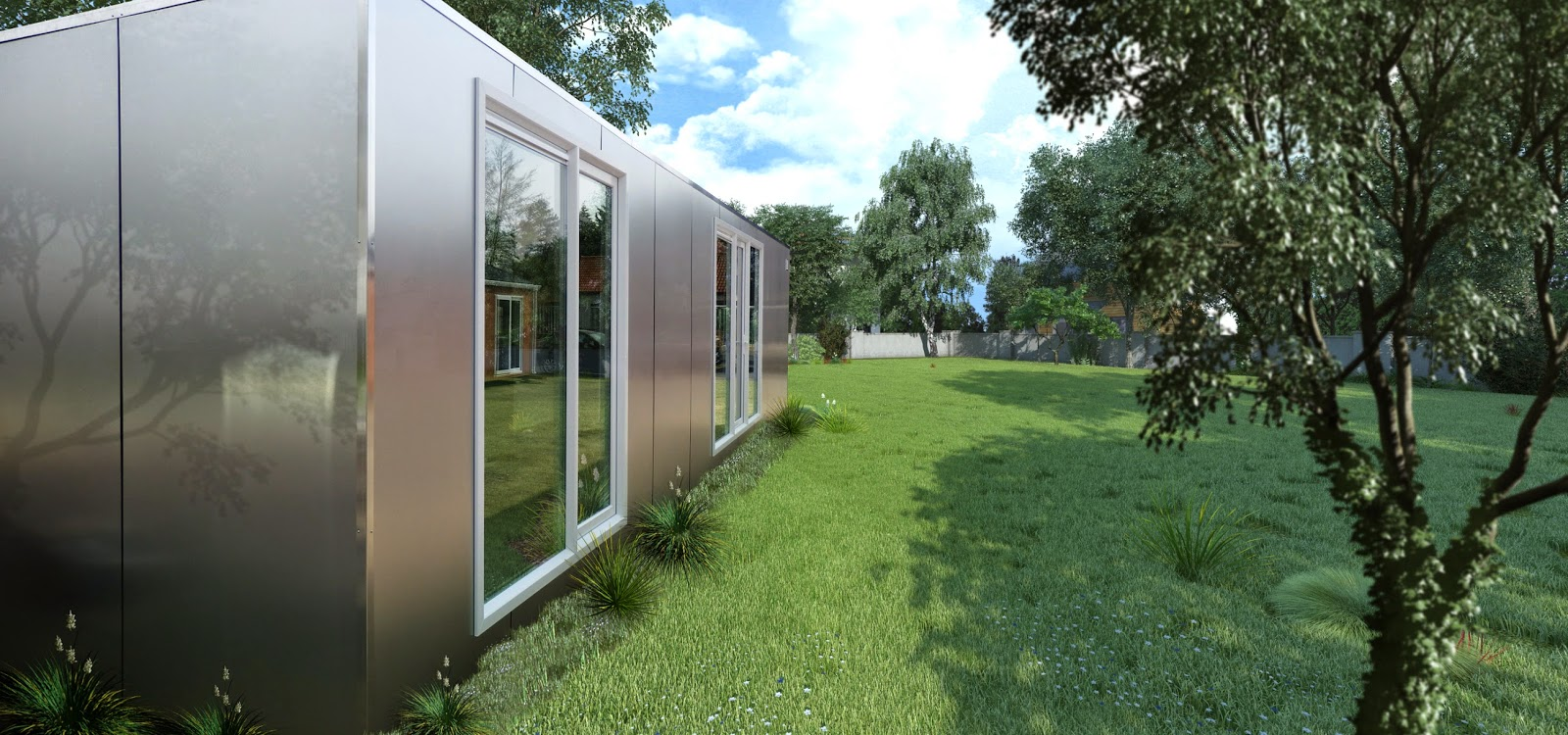 Shipping container homes affordable shipping container home by living project - Bithcin shipping container house ii ...