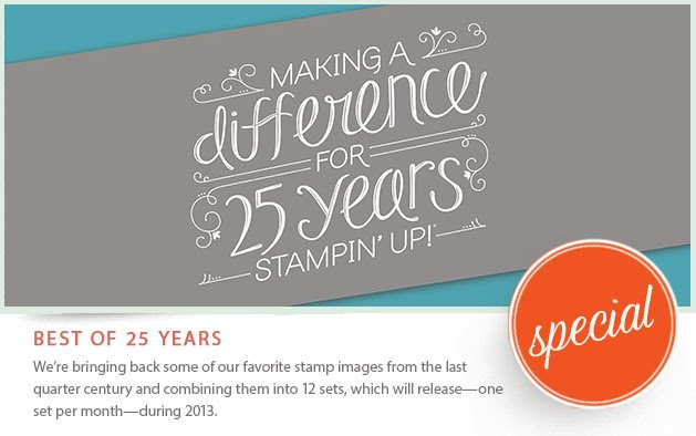 CLICK HERE TO SHOP ALL THE BEST OF 25 YEARS STAMP SETS!