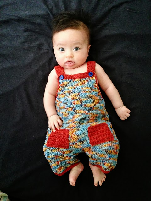 .Lindas Crafty Corner: Crochet Dungaree Pattern