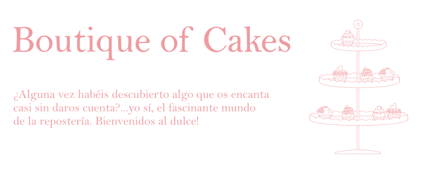 Boutique of cakes