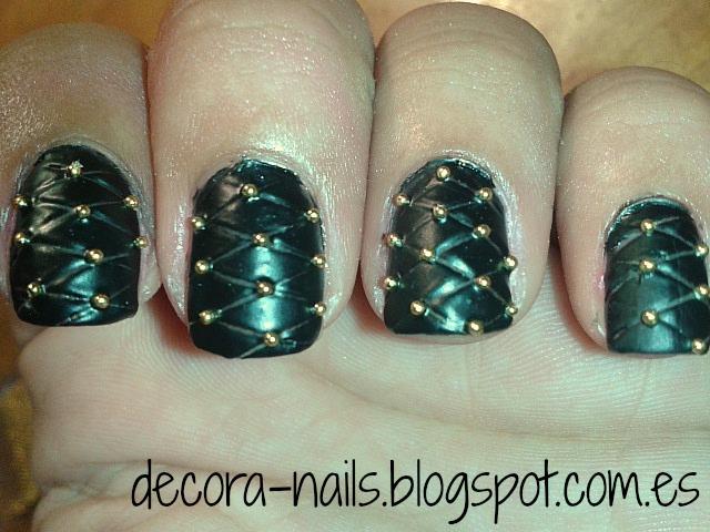 Decora-nails: Efecto acolchado. \
