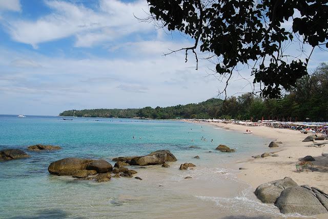 Пляж Сурин - баунти Пхукета - Surin beach, Phuket