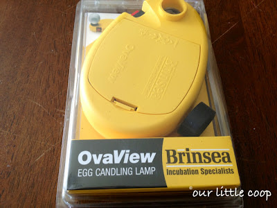 Brinsea OvaView and OvaScope egg candle