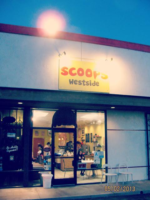 Scoops Westside-- Exterior