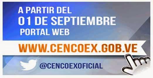 Cencoex activa nuevo portal web