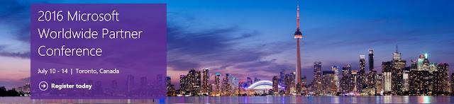 Microsoft WPC 2016 - Toronto