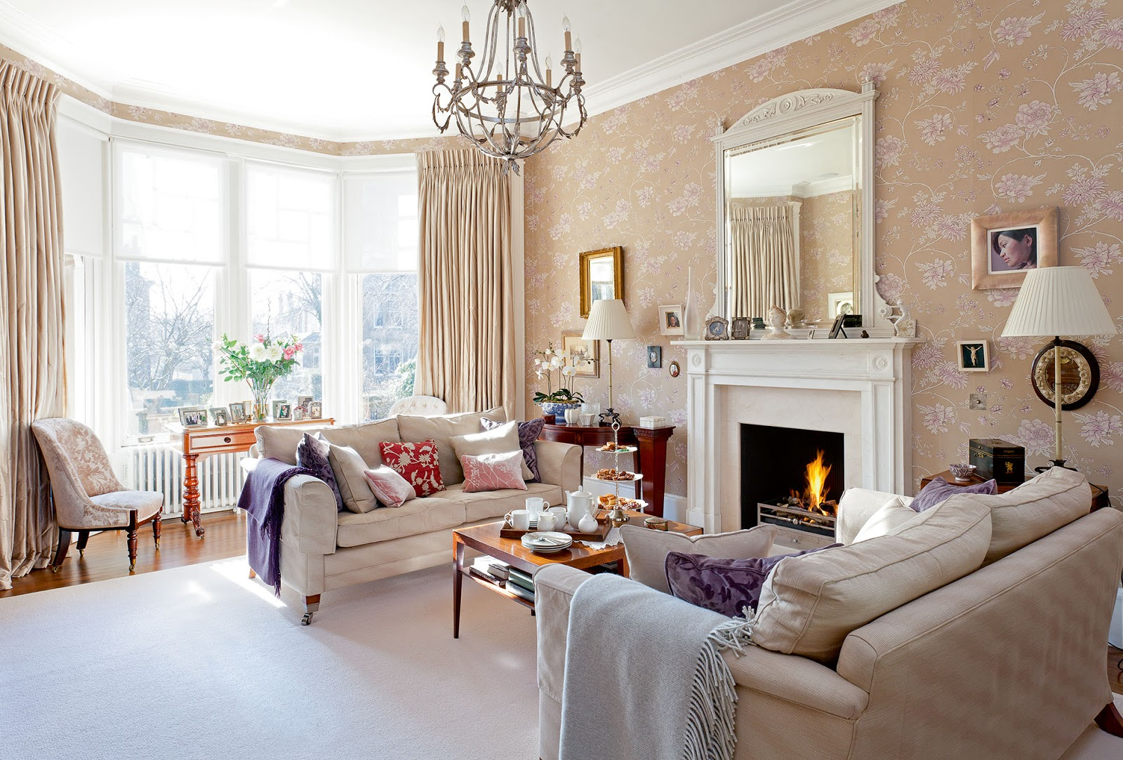 The edwardian period interiors comfortable home for Edwardian style interior design