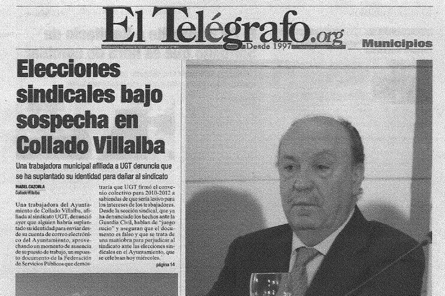 """""""Juego sucio"""" en las elecciones sindicales del Ayuntamiento"""