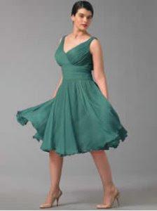 imagens de modelos de Vestidos com Decote V