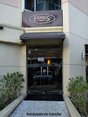 Fran's Café: Fachada da loja de Ondina
