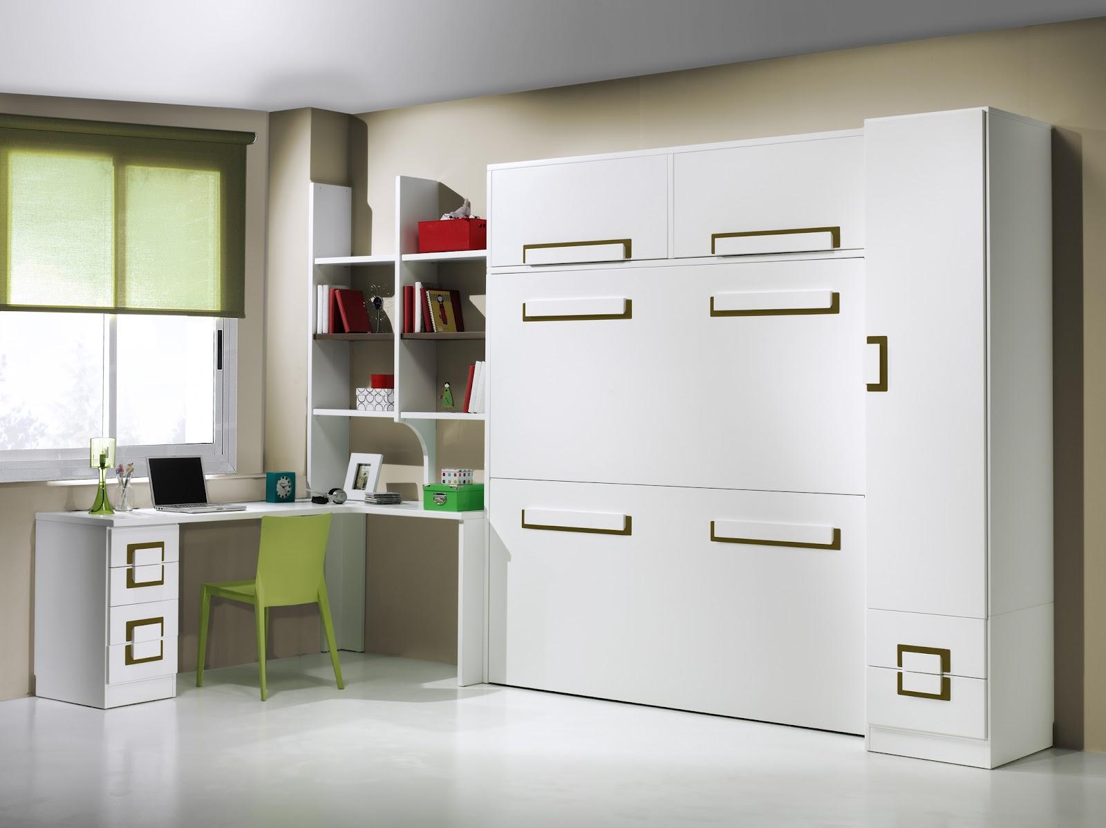 Estudio adem s de poder acoplar otro tipo de modulos - Habitaciones juveniles espacios pequenos ...