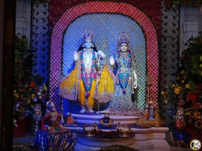 Beautiful Radha Krishna at Jagadguru Kripalu Ji Maharaj's Prem Mandir