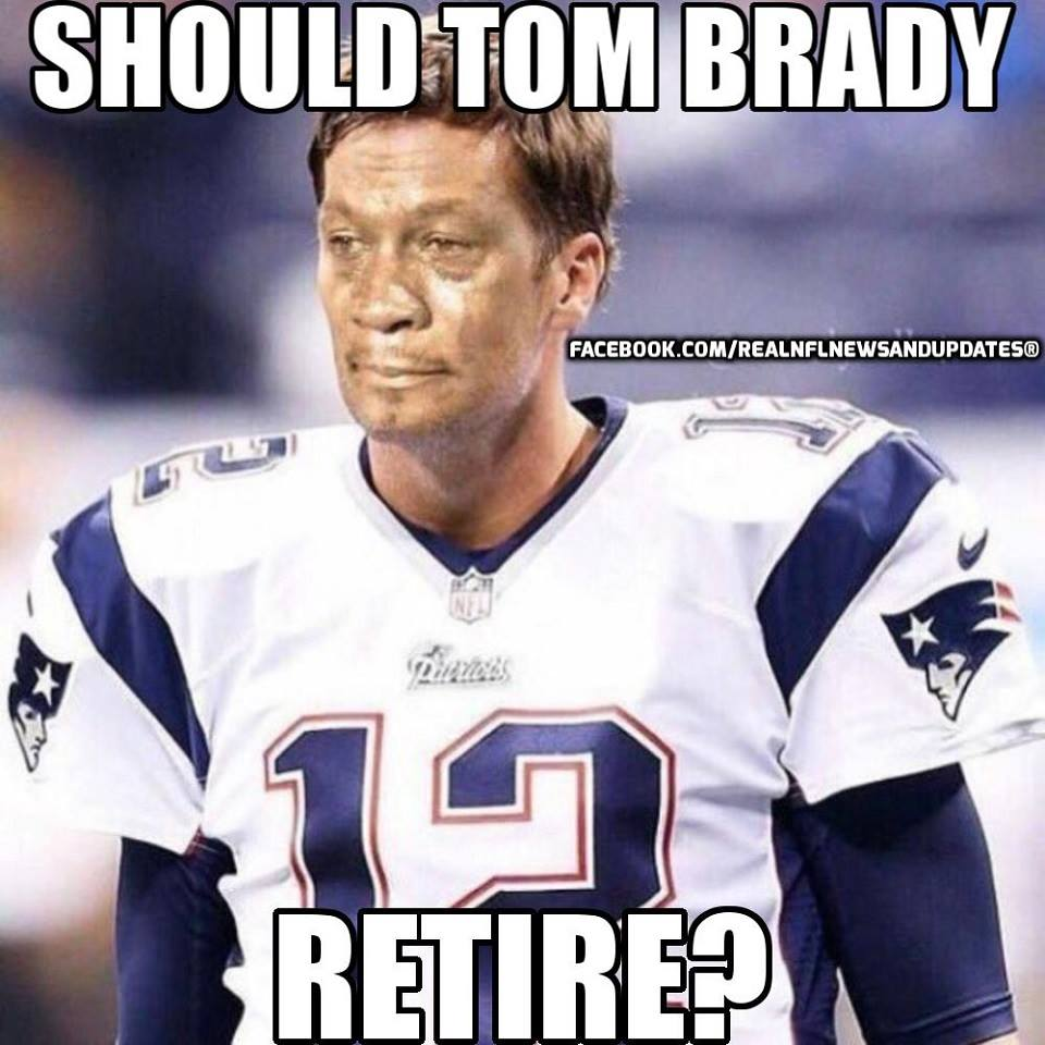 #Patriots #tombrady #nfl.- should tom brady retire