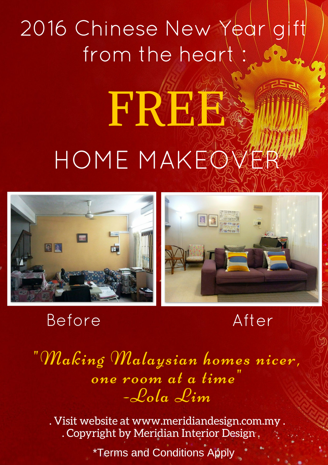 Press Release Chinese New Year Free Home Makeover 2016