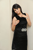 Actress Aarushi Glamorous Photos in Black-thumbnail-20