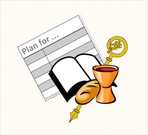 LiturgyTools net: Roman Catholic Mass Planning Template - standard
