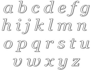 ... mão de a a z para colorir e imprimir alfabeto para colorir e imprimir