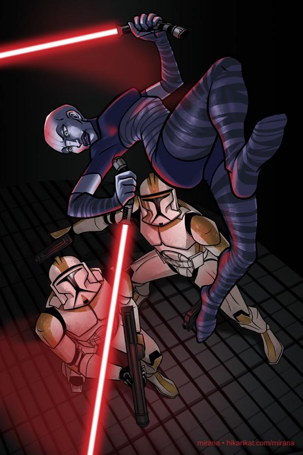 Star wars асажж вентресс голая