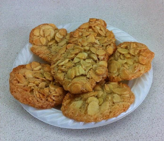 עוגיות שקדים לפסח