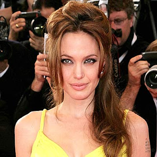 Angelina Jolie Hairstyles Pictures - Female Celebrity Hairstyle Ideas