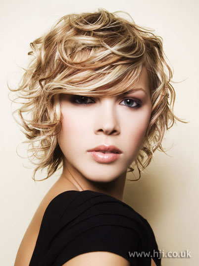 The Exciting Short Medium Curly Hairstyles Photograph
