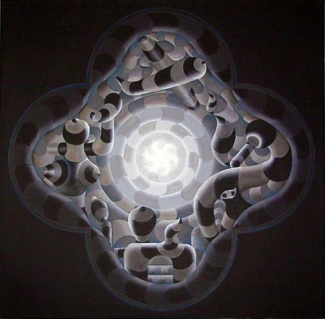 Artist Mahirwan Mamtani's Centrovision, Art Scene India