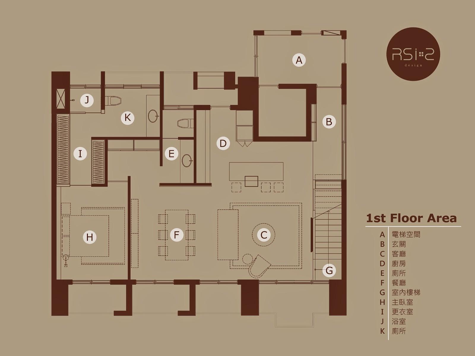 室內設計平面圖