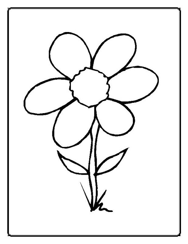 Flower Coloring Pages To Print title=