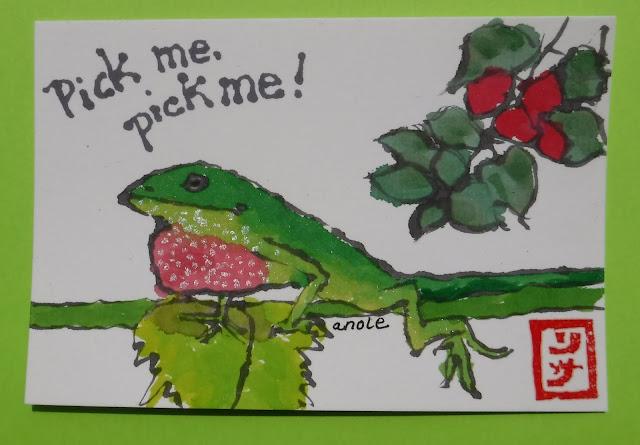 Valentine etegami