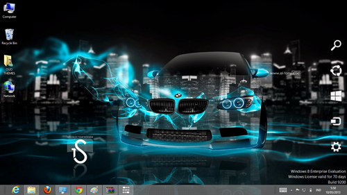 Super Car Crystal Effect Theme For Windows 7 And 8 | Ouo Themes