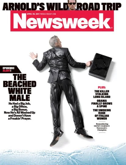 newsweek romney cover. The cover story headline for