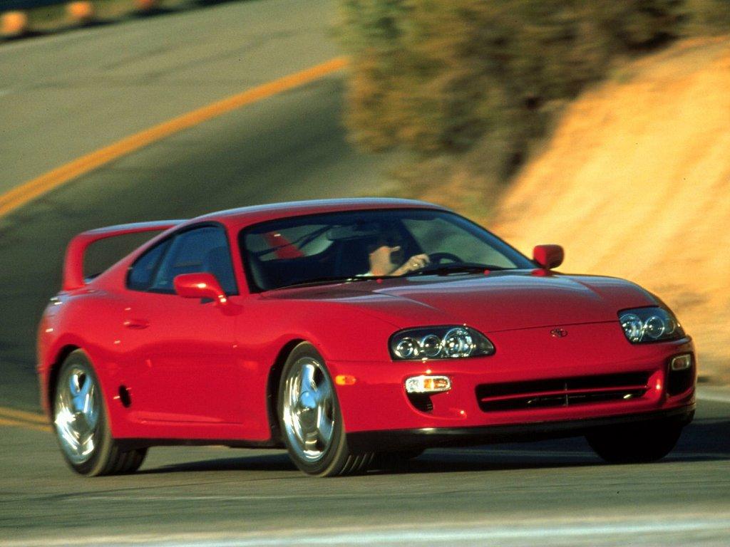 International Fast Cars Toyota Supra Stock