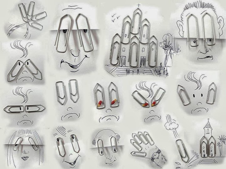 الابداع بلا حدود-لوحات فنية نصها مرسوم ونصها حقيقي Design-fetish-Victor-Nunes-objects-illustrations-into-faces-13