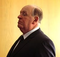 Anthony Hopkins as Alfred Hitchcock in the upcoming biography movie.