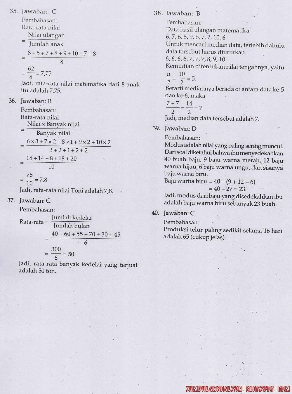 Soal Ujian Bahasa Indonesia Kls 6 Newhairstylesformen2014 Com