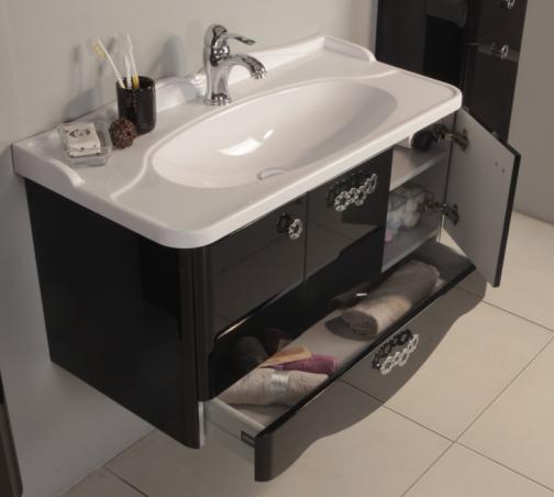 Новая коллекция мебели для ванной комнаты Акватон Венеция - тумба с раковиной