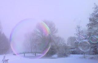 Congelar burbujas