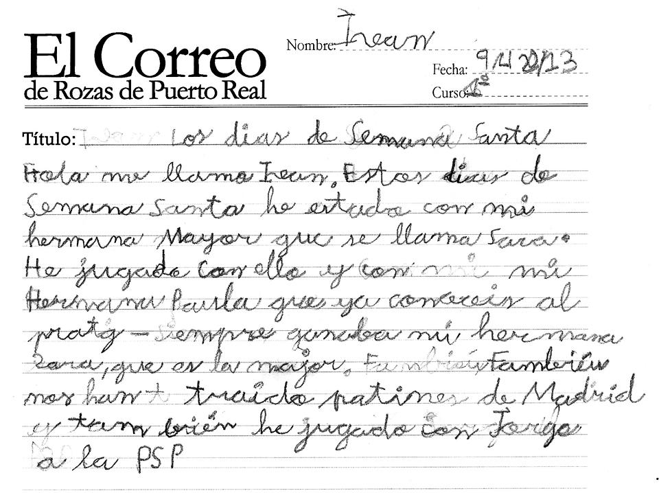 El correo de rozas de puerto real los d as de semana santa for Horario correos puerto real