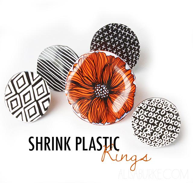 Alisaburke shrink plastic rings for Schrank plastik
