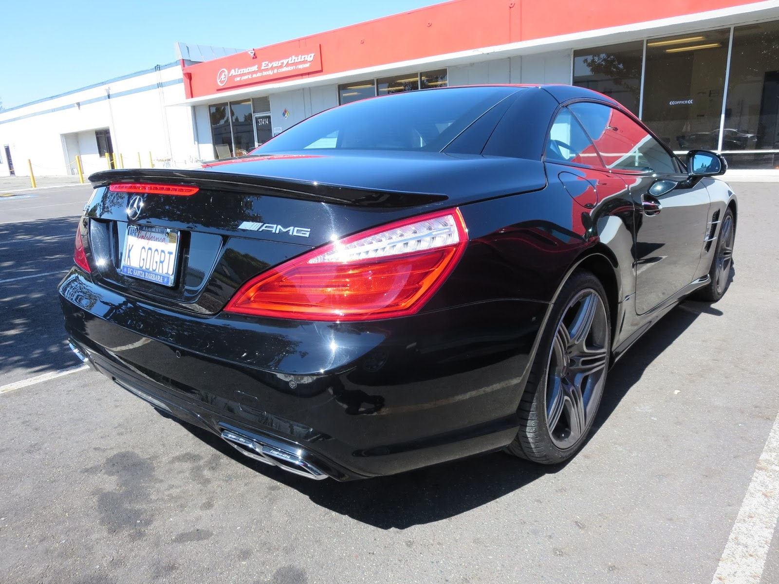 Auto body collision repair car paint in fremont hayward for Mercedes benz body repair