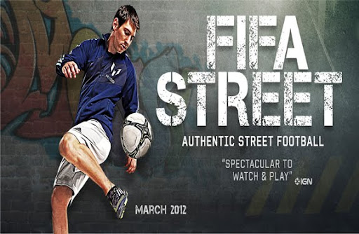 Lionel Messi will first appear on the cover of FIFA Street in March