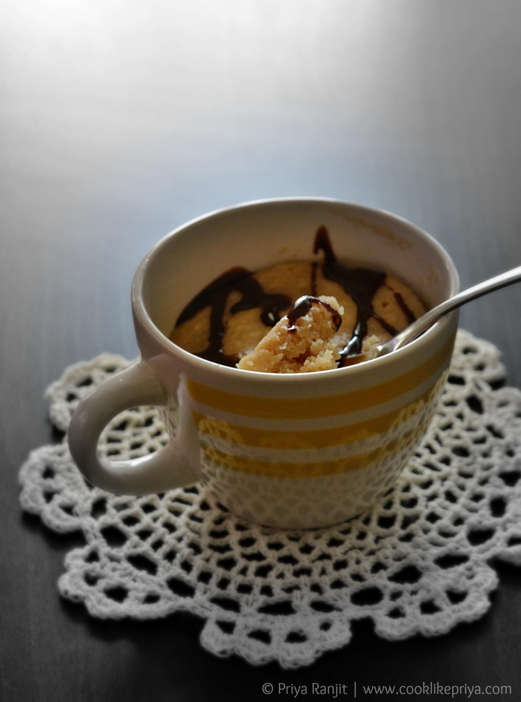 2 minute mug cake recipe