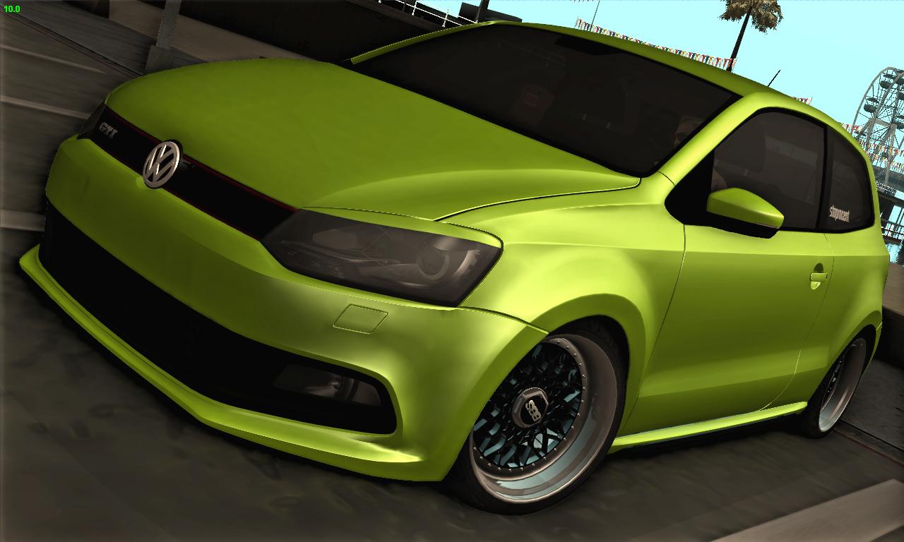 Ekipe Gta Cars 176 ★ Gta Sa Vw Polo Gti Stance