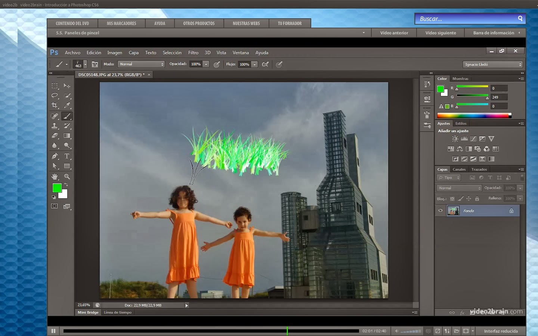 Aprender a editar fotos en photoshop cs6