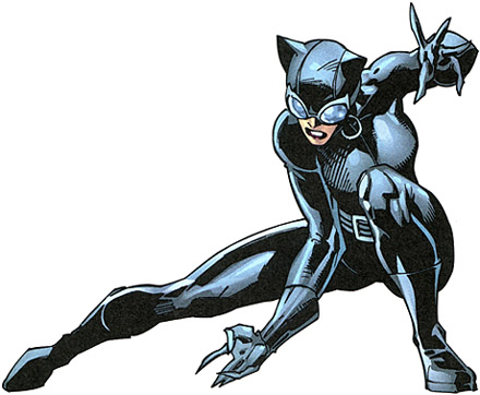 Catwoman Cartoon Image