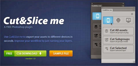 Cut&Slice Me... free download Cut&Slice Me full... pluging cutting untuk photoshop...