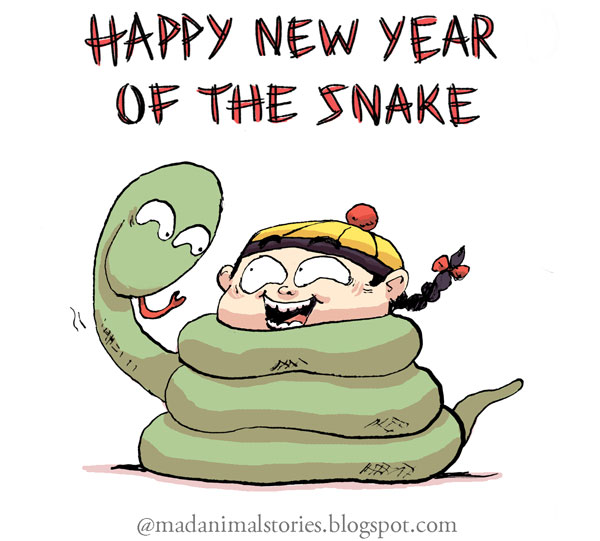 happy new year of the snake